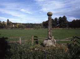 View of Bywell Village Cross.