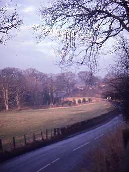 View towards Lesbury. Photo by Harry Rowland.