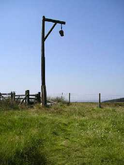 Winter's Gibbet. Photo by Northumberland County Council, 2003.