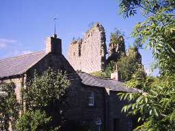 View of Thirlwall Castle. Photo Northumberland County Council.