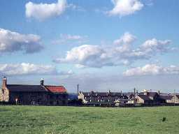 View of Shilbottle village.