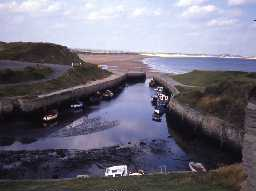 The harbour at Seaton Sluice.