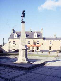 Cramlington War Memorial.