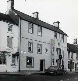 The Red Lion, Wooler. Photo by Northumberland County Council, 1968.