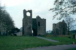 Etal Castle gatehouse, Ford. Photo by Northumberland County Council.