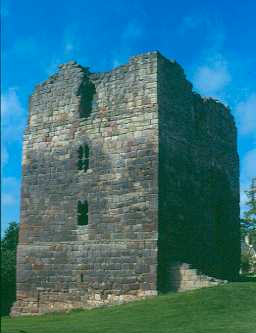 Etal Castle tower house, Ford. Photo by Northumberland County Council.