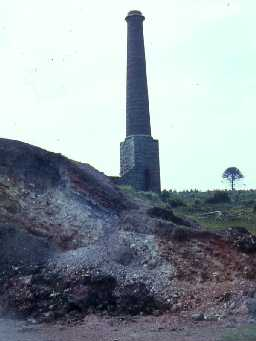 Engine house chimney at Ford Colliery.