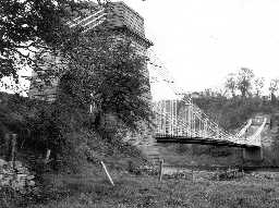 Union Chain Bridge. Photo by Northumberland County Council.