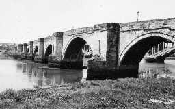 Berwick Bridge. Photo by Northumberland County Council, 1971.
