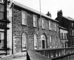 The Custom House, Quay Walls, Berwick. Photo by Northumberland County Council, 1971.