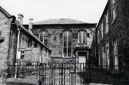 United Presbyterian Church, Bank Hill, Berwick. Photo by Northumberland County Council, 1972.