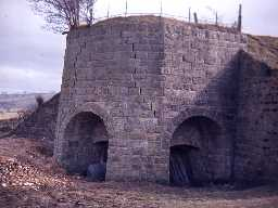 Tosson lime kiln.