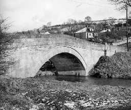 Thropton Bridge. Photo Northumberland County Council, 1956.