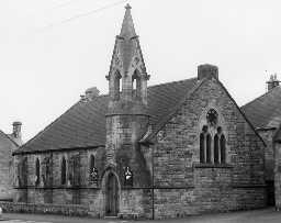 United Reformed Church, Thropton. Photo Northumberland County Council, 1971.