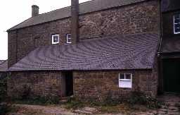 Little Ryle Farmhouse, Alnham. Photo by Peter Ryder.