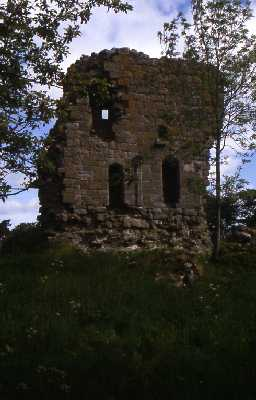 Ruins of West Lilburn Tower, Lilburn. Photo by Peter Ryder.