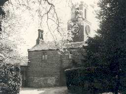 Stable block at Lilburn Tower. Photo by Northumberland County Council.