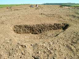 Excavations at Wooperton in 2004. 