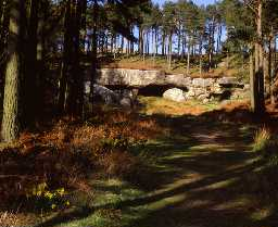 St Cuthbert's Cave (Copyright © Don Brownlow)