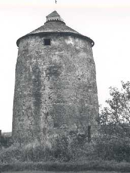 Haggerstone dovecote in 1956. Photo by Northumberland County Council.