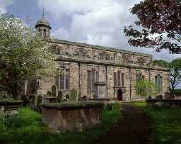 Holy Trinity Church, Berwick-upon-Tweed (Copyright © Don Brownlow)