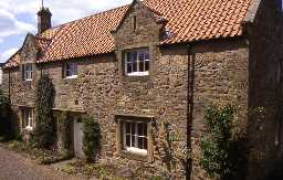 Newton Greens Farmhouse, Newton-on-the-Moor and Swarland. Photo by Peter Ryder.
