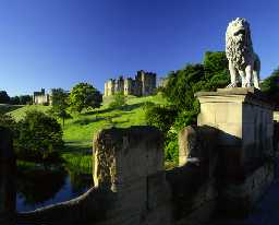 Alnwick Castle (Copyright © Don Brownlow).