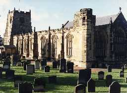 Church of St Michael, Alnwick. Photo Northumberland County Council.