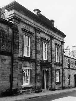 Mechanics' Institute, Percy Street, Alnwick. Photo Northumberland County Council, 1971.