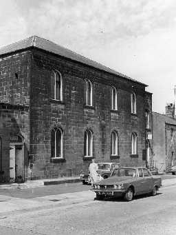 Sion Meeting House, Alnwick. Photo Northumberland County Council, 1971.