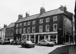 Nos 69 to 75 Bondgate Within, Alnwick. Photo Northumberland County Council, 1970.