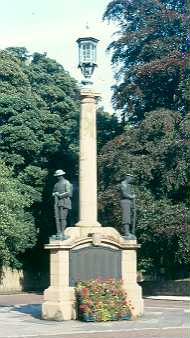 War Memorial, Alnwick. Photo by Northumberland County Council.