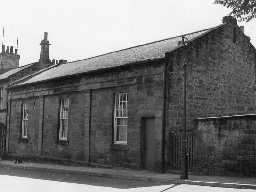 Victoria Infants School, Alnwick. Photo Northumberland County Council, 1971.