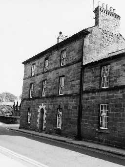 No.1 Percy Street, Alnwick. Photo Northumberland County Council, 1971.
