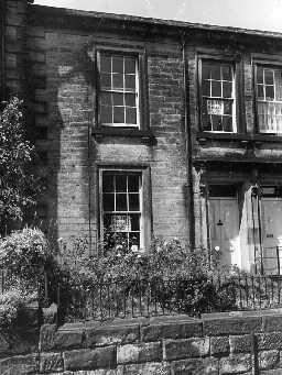 No.11 Percy Terrace, Alnwick. Photo Northumberland County Council, 1971.
