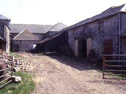 Doxford Farm planned farm buildings.