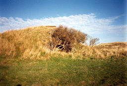 Lime kiln at Budle Bay