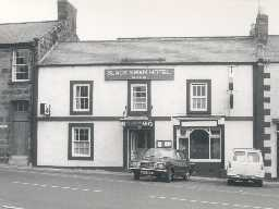 Black Swan Hotel, Belford. Photo by Northumberland County Council.