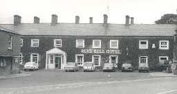 Blue Bell Hotel, Belford. Photo by Northumberland County Council.