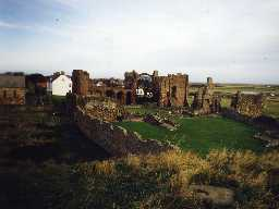 Lindisfarne Priory, Holy Island. Photo by Northumberland County Council.