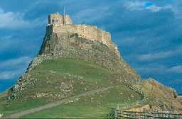Lindisfarne Castle, Holy Island. Photo by Northumberland County Council.