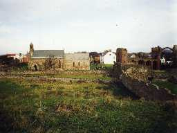 St Mary's Church, Holy Island. Photo by Northumberland County Council.