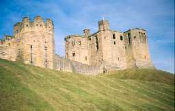 Warkworth Castle. Photo by Northumberland County Council.