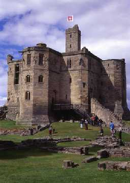 Warkworth Castle (Copyright © Don Brownlow)