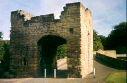 Warkworth Bridge gatehouse. Photo by Northumberland County Council.