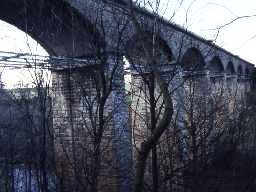 Railway Viaduct over River Coquet.