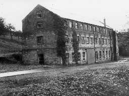 Acklington Park Mill. Photo Northumberland County Council, 1971.