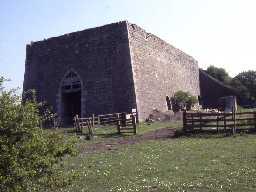 19th century lime kiln at Littlemill West Quarry, Longhoughton.