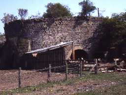 Late 18th century lime kiln at Littlemill West Quarry, Longhoughton.