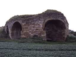 Lime kiln at Peppermoor Quarry